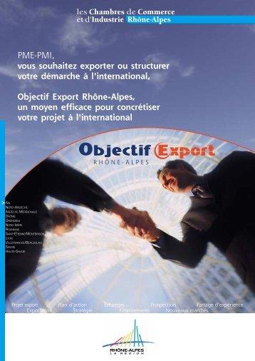 V2.objectifexport2004.qxd - Chambre de Commerce et d'Industrie ...