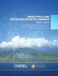 Energy Policy and Sector Analysis in the Caribbean (2010 ... - ECPA