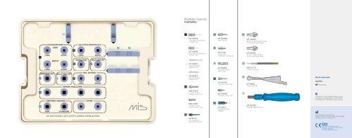Prosthetic Tools Kit Contents: - Mis Implant