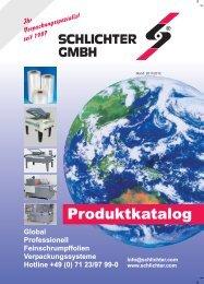 Modell A - Schlichter GmbH