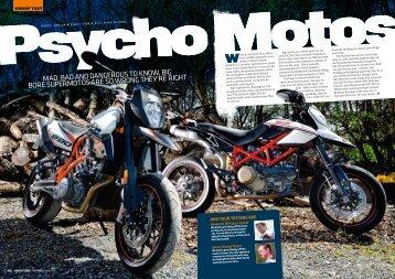 Psycho Motos - Fast Bikes
