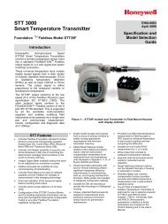 STT 3000 Smart Temperature Transmitter - Industrial Controls