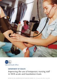 Improving the use of temporary nursing staff in NHS acute and ...
