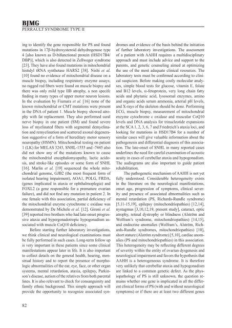 hypergonadotropic hypogonadism, progressive early-onset