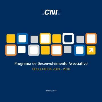 Programa de Desenvolvimento Associativo - Resultados 2009 - CNI