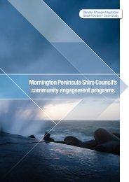 Mornington Peninsula Shire Council's community engagement ...