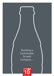 Building a Sustainable Growth Company….