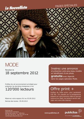 Offre print +
