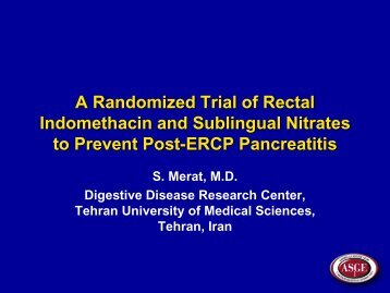 Slide pertaining to one of the oral presentations in DDW 2013.