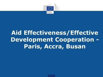 Paris, Accra, Busan - Capacity4Dev