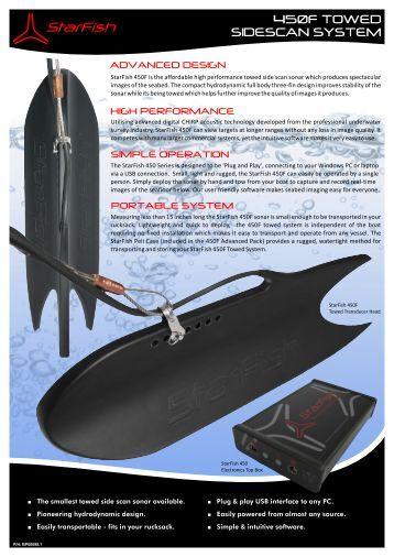 StarFish 450F - Hydroacoustics