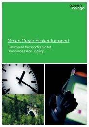 Green Cargo Systemtransport