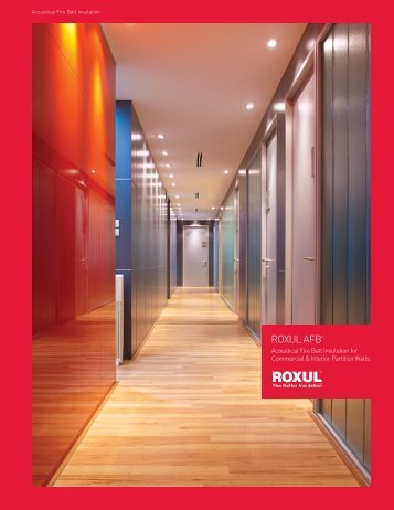 Roxul Brochure - IDI Insulation Distributors