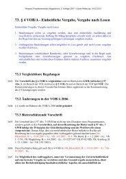73. § 4 VOB/A - Einheitliche Vergabe, Vergabe nach Losen