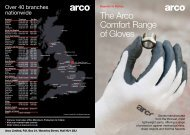 The Arco Comfort Range of Gloves