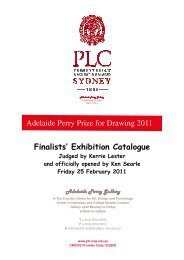 Adelaide Perry Prize for Drawing 2011 - Presbyterian Ladies' College