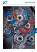 Catálogo 206 - Discos de corte e desbaste - PFERD - Page 5