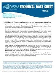 Guidelines for Connecting a Drawbar Operator to a ... - Dasma.com