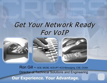Get Your Network Ready For VoIP