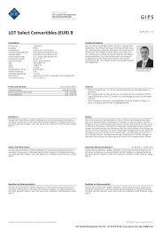 LGT Select Convertibles (EUR) B