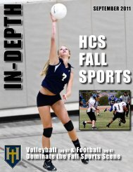 INDEPTH Sept 2011 PDF - Hillcrest Christian School
