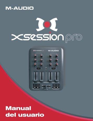 Manual de instrucciones de X-Session Pro - M-Audio