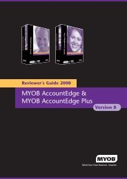 MYOB Reviewers Guide v16 - Mamut
