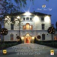 Download Christmas Brochure - Hotel Van Dyk