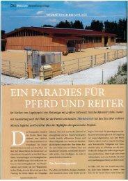 PFERD UND REITER - Schlosser Holzbau