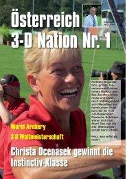 WA 3-D Weltmeisterschaft - Bogensportverlag