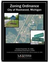 Zoning Ordinance - City of Rockwood
