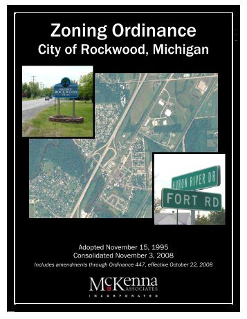 Zoning Ordinance - City of Rockwood