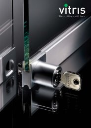 Glass fittings with logic - Willach