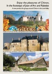 download the enclosed brochure - Forteresse Royale de Chinon