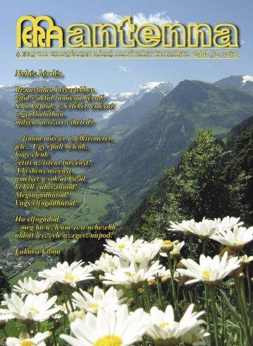 2007 2. szám - Magyar Evangéliumi Rádió