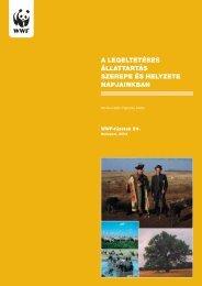 A legeltetéses állattartás szerepe és helyzete napjainkban. - WWF ...
