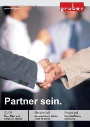 Firmen-Info Nr. 9, Jahr 2005 - Gruber Innenausbau