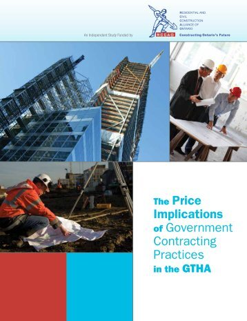 The Price Implications of Government Contracting Practices - rccao