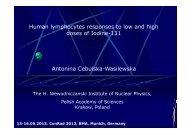 Antonina Cebulska-Wasilewska Human lymphocytes ... - Bsbb