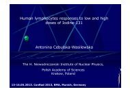 Antonina Cebulska-Wasilewska Human lymphocytes ... - Bsbb