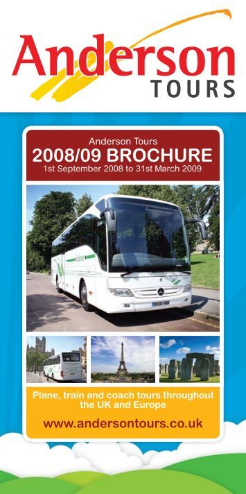 2008/09 BROCHURE - Anderson Tours