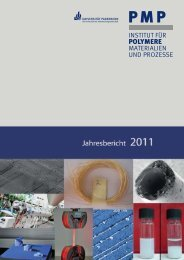Jahresbericht 2011 - PMP - Universität Paderborn