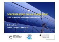 CONCENTRATING SOLAR POWER NOW
