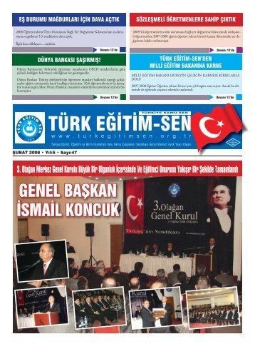subat mizanpaj.indd - Türk Eğitim-Sen