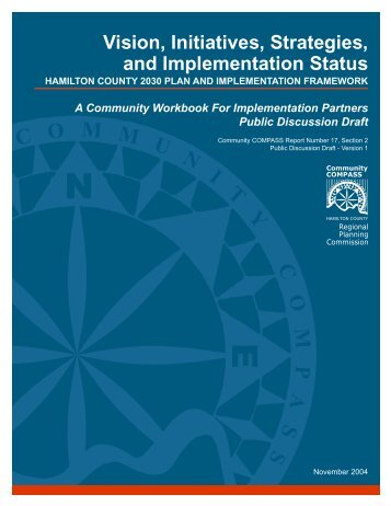Vision, Initiatives, Strategies and Implementation Status - Hamilton ...