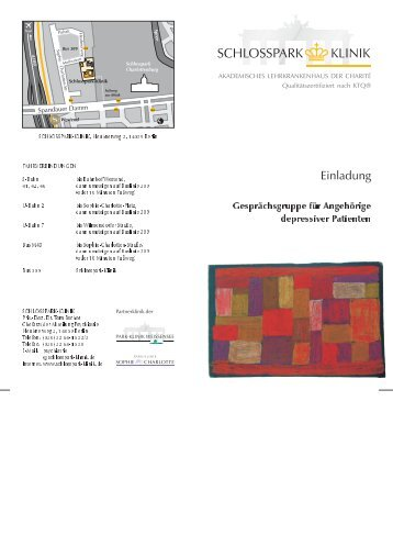 Einladung - Schlosspark Klinik