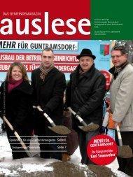 Karl Sonnweber Mehr für - die auslese