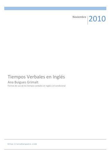 tiempos verbales en ingles ejemplos pdf free