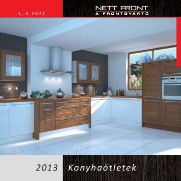 Nett Front konyhaötletek 2013-08 - Falco Depo Udvar