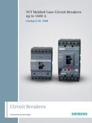 3VT1 Molded Case Circuit Breakers up to 160 A - Tehnounion